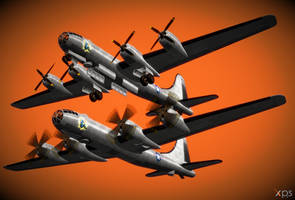 B-29 Superfortress *updt* by Marcelievsky