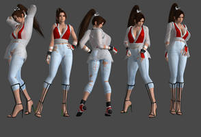 DOA Pose Pack 1 by Marcelievsky