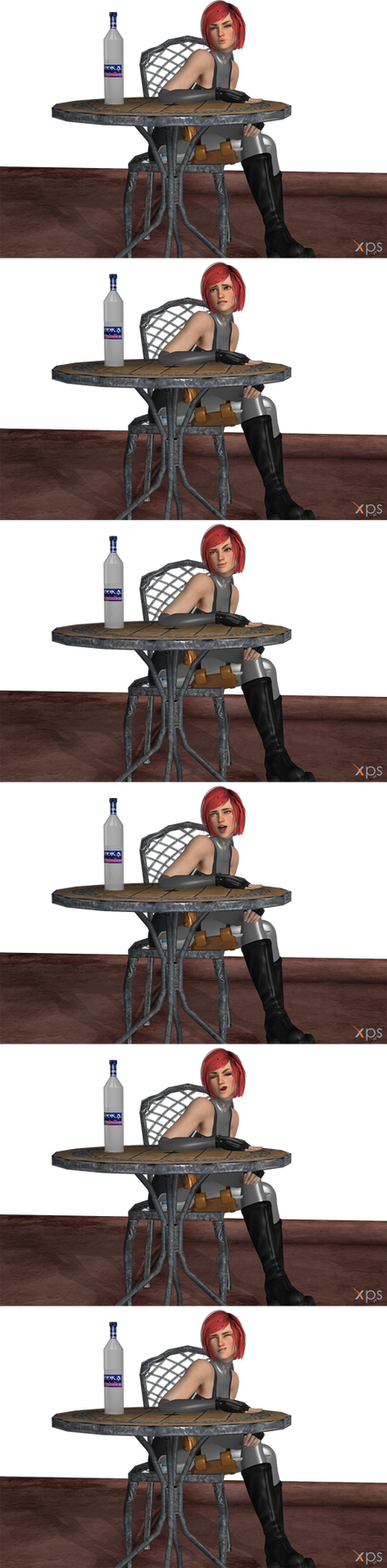 DOA Face Pose Pack 1 by Marcelievsky