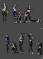 DOA Pose Pack Weapons 1 by Marcelievsky