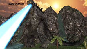 MMD Newcomer - PS3/PS4 Godzilla 2014 +DL MOVED+ by MMDCharizard