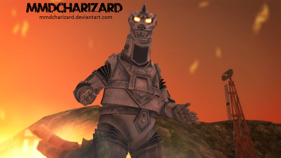 MMD Newcomer - PS3/PS4 MechaGodzilla2 DL MOVED by MMDCharizard on