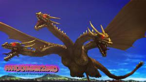 MMD Newcomer - PS3/PS4 King Ghidorah V2 +DL+