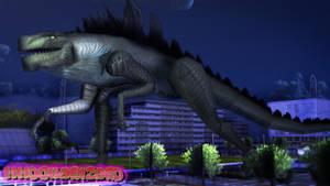 MMD Godzilla Generations - Zilla +DL+