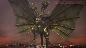 MMD Godzilla - King Ghidorah Maximum Impact +DL+ by MMDCharizard