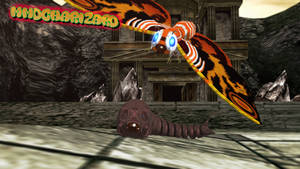 MMD Godzilla - Mothra Maximum Impact +DL+