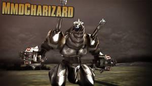 MMD Godzilla - SMG-IInd (Maximum Impact) +DL+ by MMDCharizard