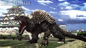 MMD Godzilla - PS4 Anguirus +DL+ by MMDCharizard
