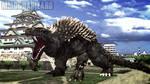 MMD Godzilla - PS4 Anguirus +DL+