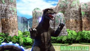 MMD Godzilla - Godzilla 1974 +DL+ by MMDCharizard