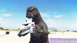 MMD Godzilla - Godzilla 1975 +DL+ by MMDCharizard
