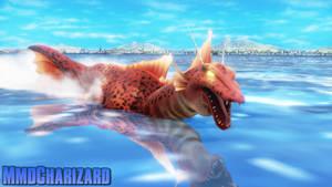 MMD Godzilla - Titanosaurus +DL+ by MMDCharizard