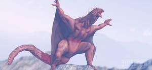 MMD Godzilla - Varan 1958 +DL+