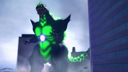MMD Godzilla - Super Godzilla +DL+