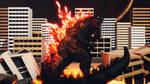MMD Godzilla - Godzilla 2000 +DL+