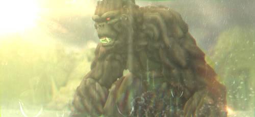 MMD Godzilla - Kong 2017 +DL+