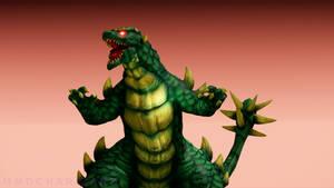 MMD War of The Monsters - Togera +DL+