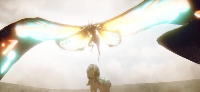 MMD Godzilla - Mothra 2019 +Download+