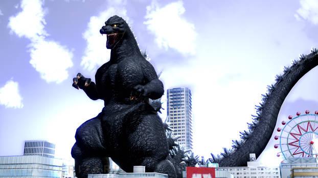 MMD City Shrouded in Shadow - Godzilla +DL+