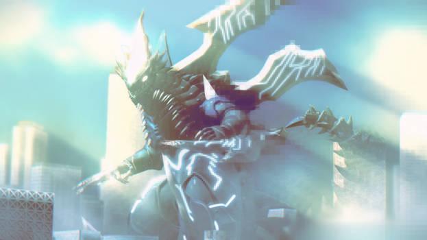 MMD Ultraman - Kamisori Demaaga +DL+
