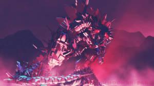 MMD Godzilla - Anime MechaGodzilla +DL+