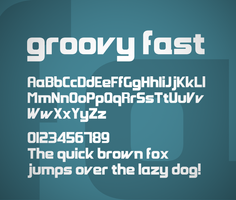 Groovy Fast font by FutureMillennium
