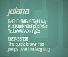Jolana font by FutureMillennium