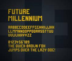 Future Millennium font by FutureMillennium