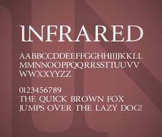 InfraRed font by FutureMillennium