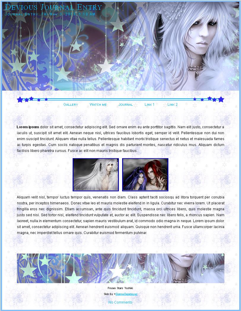 Frozen Stars Yoshiki by DianneDejarjayes