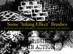 Inking Effect Brushes