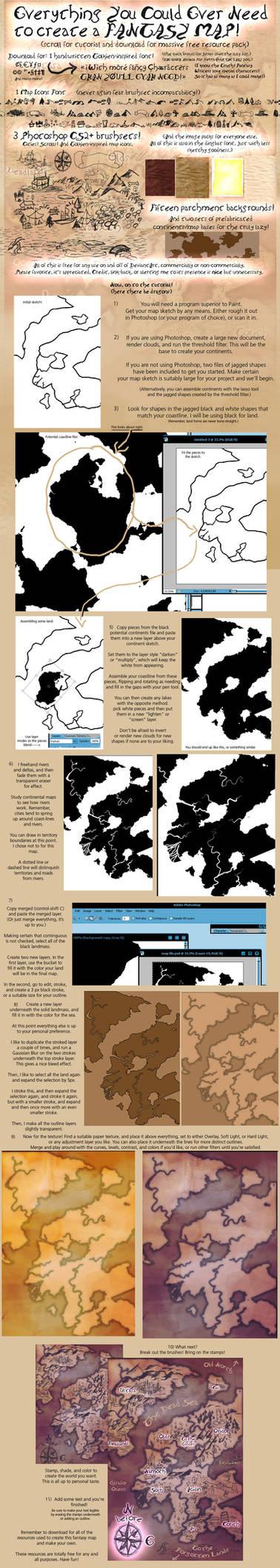 Fantasy Map TutorialxResources