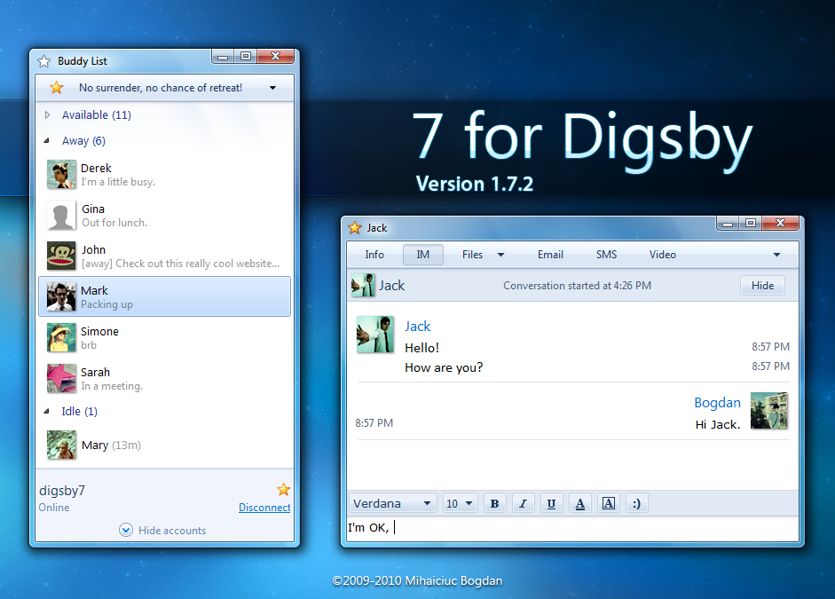 7 for Digsby version 1.7.2 by bogo-d