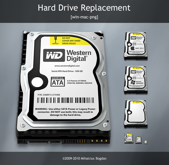 Western digital hard disk icon