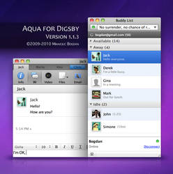 Aqua for Digsby version 1.1.3
