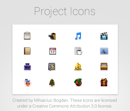 Project Icons - v 2.1.8
