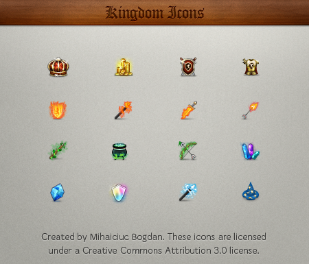 Kingdom Icons by bogo-d