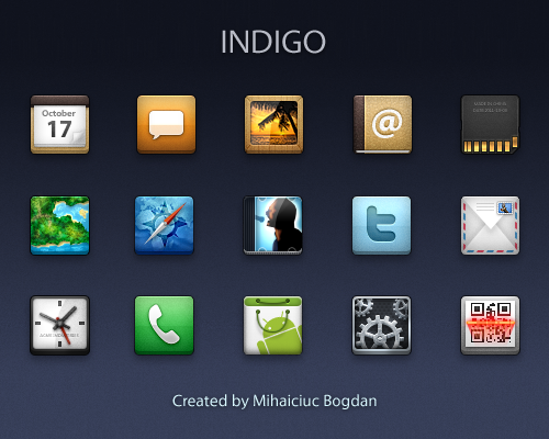 Indigo Icons by bogo-d