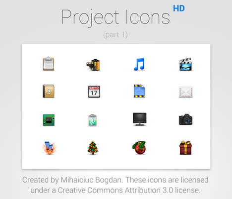 Project Icons HD (Part 1)