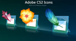 Adobe Glass Icons