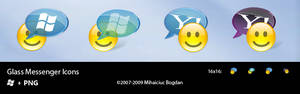 Glass Messenger Icons
