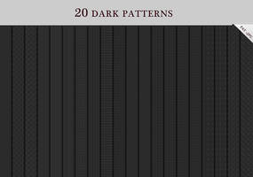 20 Dark Patterns by ZERGEV