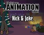 a Nick and Jake Christmas by moremagic