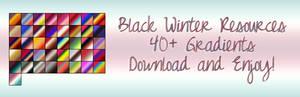 Black Winter Gradients 2