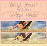 Black Winter Actions - Vintage Blonde