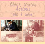 Black Winter Actions - Old and Worn