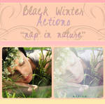 Black Winter Actions - Nap In Nature