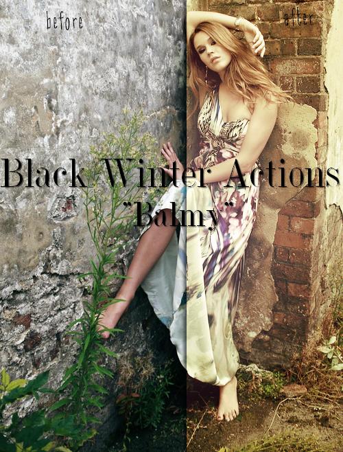 Black Winter Actions - Balmy