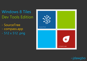 Windows 8 Tiles Dev Edition by jdawgbo