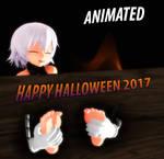 MMD Halloween 2017 Jackie's ticklish massage